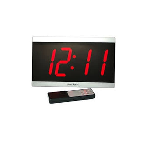 Sonic alert large display alarm clock