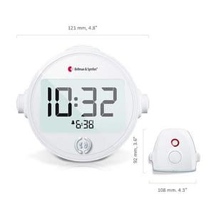 Bellman & Symfon Alarm Clock Classic Including Bed Shaker