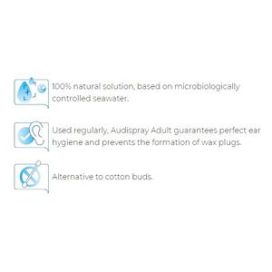 Audispray Adult Ear Hygiene – Ear Wax Spray