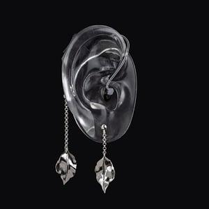 DeafMetal® Silver Buds – Hearing Aid Jewellery