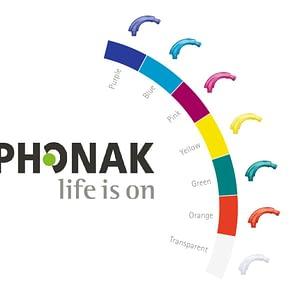 Phonak Coloured Ear Hooks