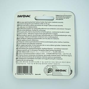 Rayovac Hearing Aid Battery Holder Case