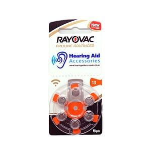 Rayovac ProLine Advanced Hearing Aid Batteries Size 13