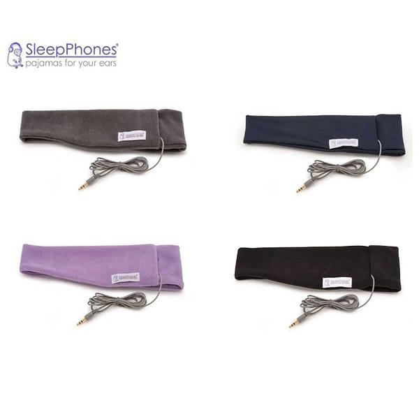 Sleep phones in various colours