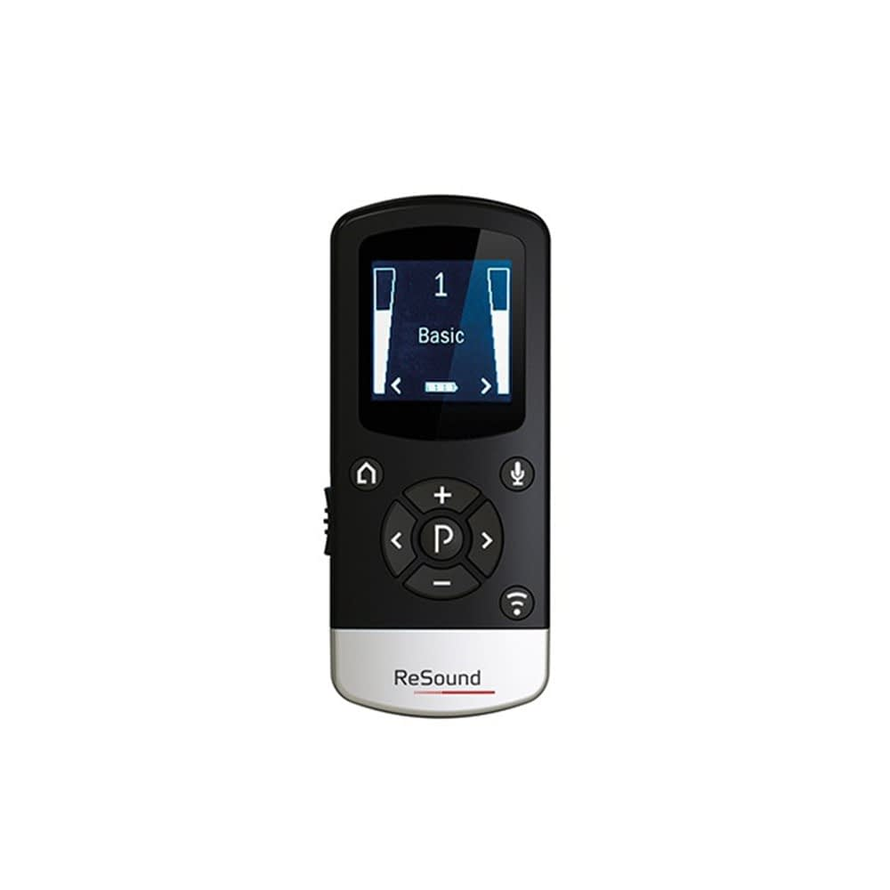 GN ReSound remote control front view