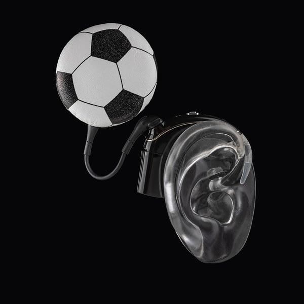Football deafmetal accessory