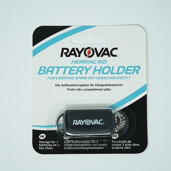 battery holder in packaging
