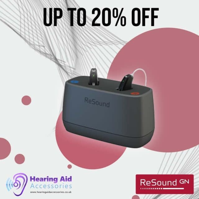 Keep your ReSound Key hearing aid in full power with the small and discreet  GN Resound Key charger. Now on sale!  link to website in bio❤️  #GNReSound#HearingAid #sale #hearingloss #hearinglosssupport #hearinglossassistance #hearingassistance #accessibility