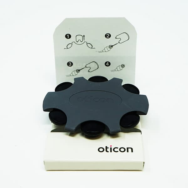 oticon minifit pro wax filters and packaging