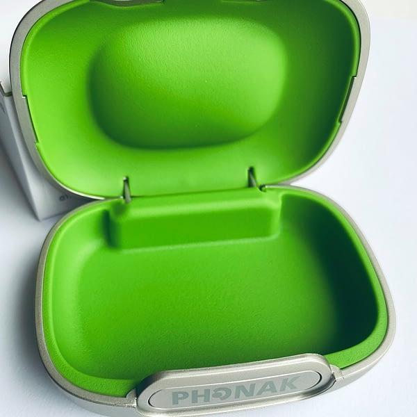phonak case close up