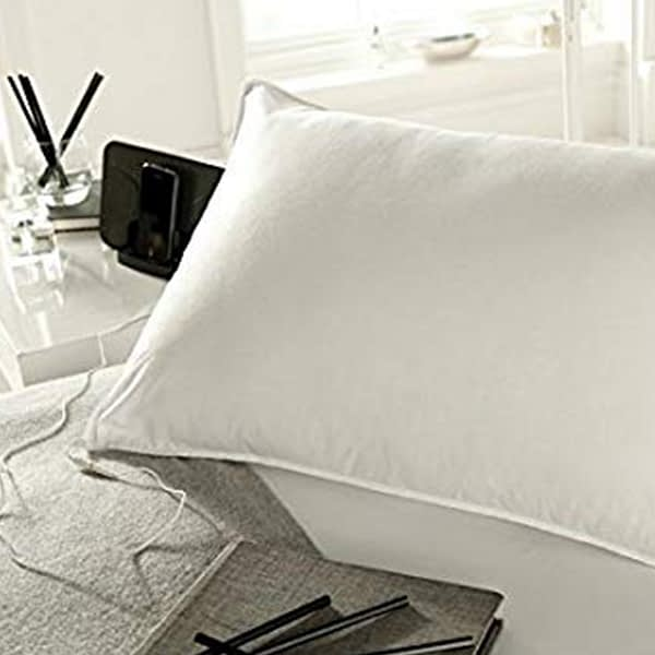 sound pillow shown in bedroom