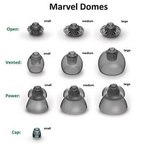 Phonak Hearing Aid Domes – Marvel & Paradise