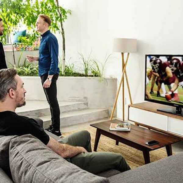 tv play in use