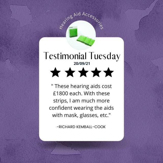 Testimonial Tuesday!