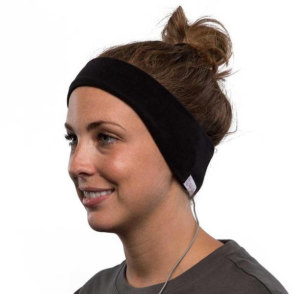 SleepPhones Wired Headband Headphones - Black