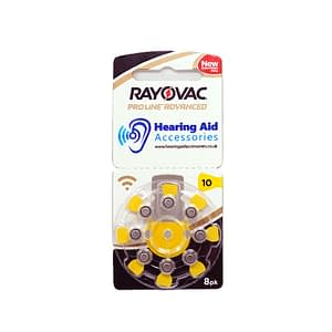 Rayovac ProLine Advanced Hearing Aid Batteries Size 10