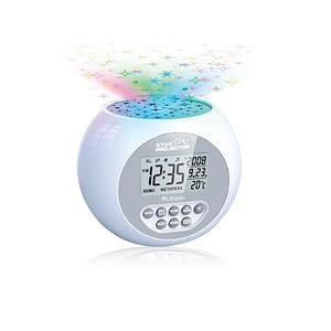 Star Projection Sound Machine Alarm Clock